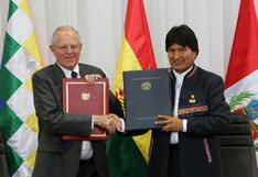 Morales analizará con PPK plan para que carga boliviana pase por Perú