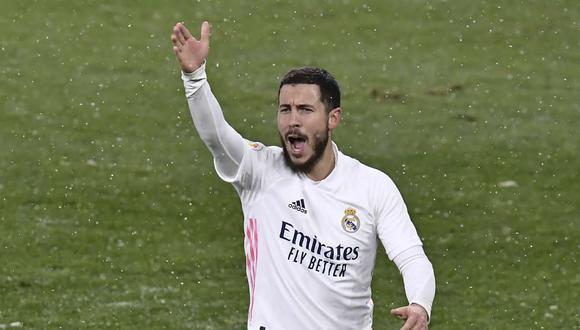 Eden Hazard fue criticado por exjugador de Real Madrid. (Foto: AP)
