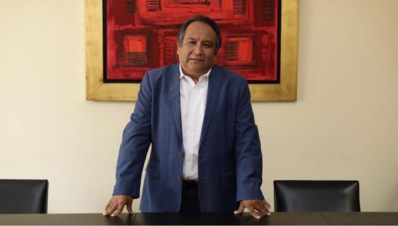 Juan de la Puente señala que es necesario realizar un acuerdo nacional para trazar el camino hacia el futuro en medio de la crisis. (Foto: Anthony Niño de Guzmán / GEC)