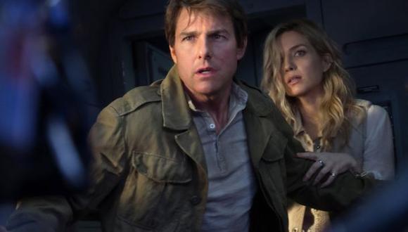 """Tom Cruise protagoniza esta nueva versión de """"La momia""""."""