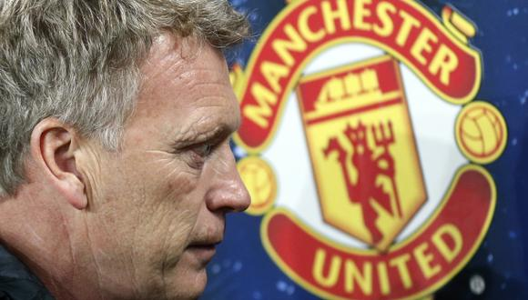 "Moyes, técnico del Manchester United: ""No tiraremos la toalla"""