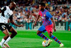 Barcelona 3-1 Valencia: resultado, resumen y goles del partido