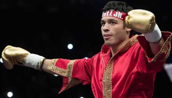 Julio César Chávez Jr. noqueó a Evert Bravo con un contundente gancho al hígado en el primer round   VIDEO. (Foto: Twitter)