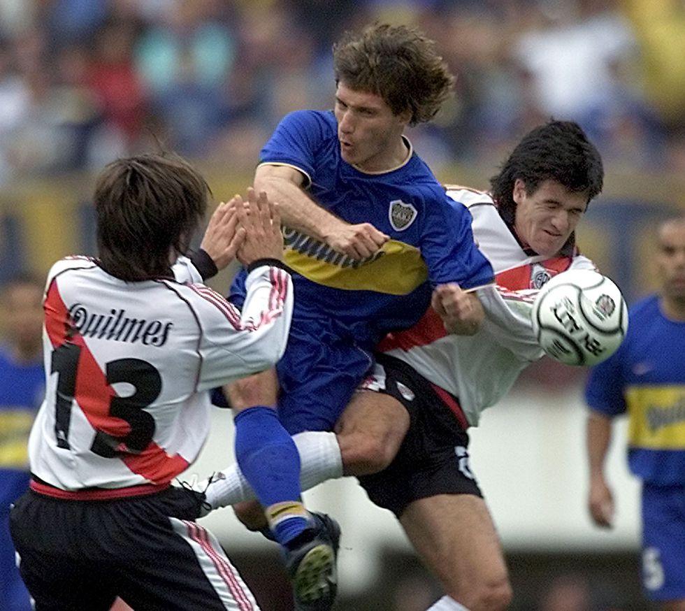 Gustavo Barros Schelotto en el 2000. (Foto: AP)