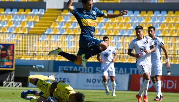 Everton y Colo Colo empataron 1-1 por el Torneo Nacional de Chile | Foto: Everton