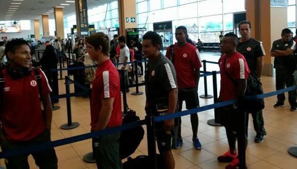 La 'U' viajó a Brasil por el milagro en la Copa Libertadores