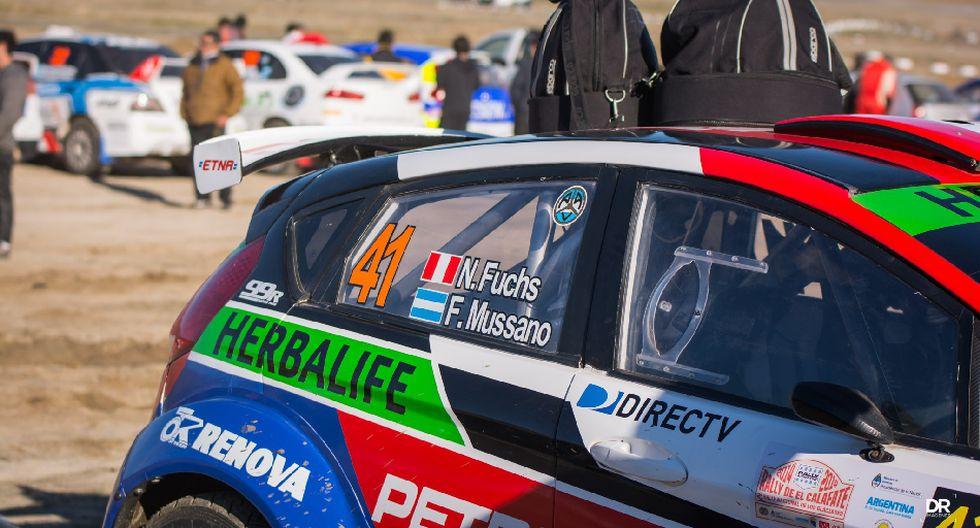 Fuchs empezó su participación en el Rally de los Glaciares - 14