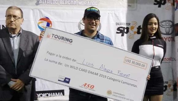 Luis Alayza se apunta en  el Rally Dakar 2019 gracias a la 'wild card entregada por el Touring y Automóvil Club del Perú y la Amaury Sport Organisation. (Foto: Luis Alayza).