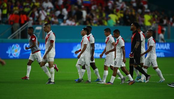 Perú no pudo en el último amistoso del 2019 ante Colombia. Se cierra un nuevo año de la Bicolor. (Foto: Daniel Apuy - GEC)