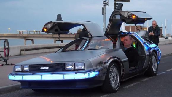 Steve Wickenden compró el auto en el año 2010. (Foto: Caters Clips   YouTube)