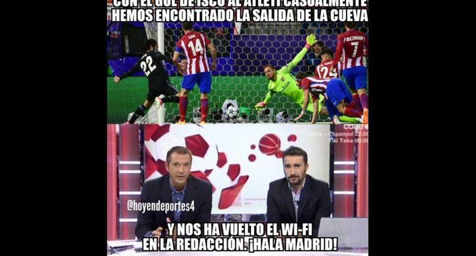 Real Madrid vs. Atlético Madrid: los memes de la semifinal - 55