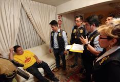 Así fue detenido Juan Sotomayor en su casa de Jesús María | FOTOS