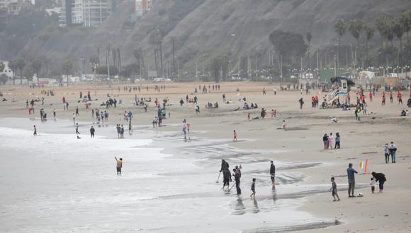 Propuesta busca establecer protocolos a fin  de reducir aforo en playas de la Costa Verde durante temporada de verano. (Foto: GEC)