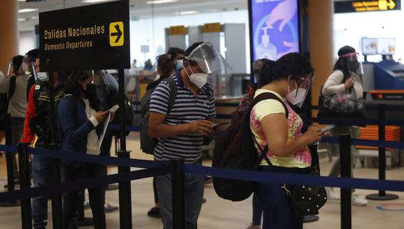 Según Viajala, la búsqueda de vuelos a Buenos Aires y Cancún aumentó en un 82% con relación a los meses anteriores. (Foto: Hugo Perez / GEC)
