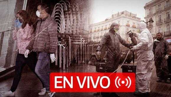 Coronavirus EN VIVO en el mundo. Repasa las últimas noticias de cómo la pandemia de Covid-19 afecta a Estados Unidos, España, Italia, Reino Unido y otras naciones, EN DIRECTO, hoy viernes 24 de abril | Foto: GEC diseño