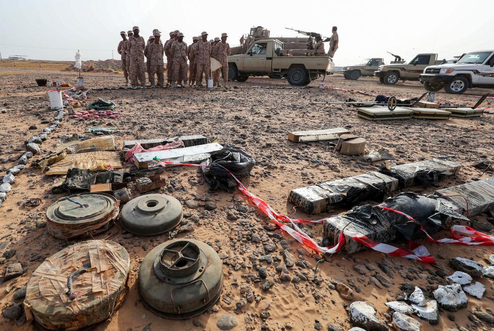 Minas terrestres, los asesinos ocultos de la guerra en Yemen. Foto: Archivo de AFP