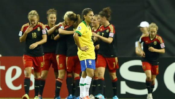 Alemania volvió a golear a Brasil, esta vez en mundial femenino