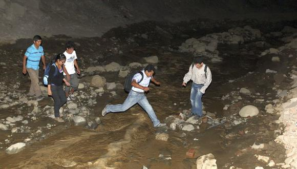 La Libertad: desborde de quebradas afecta a Ascope