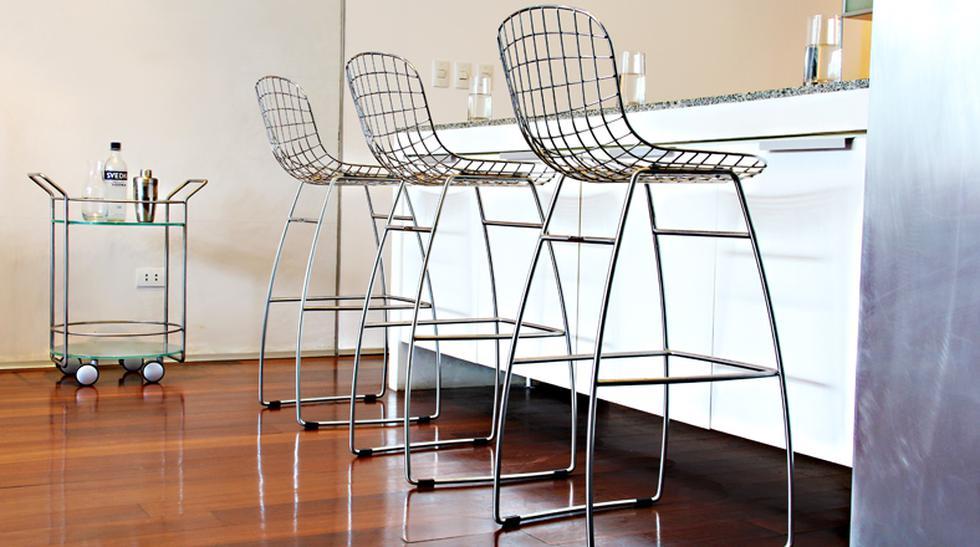 Cinco ideas de bancas y sillas para decorar el bar - 1