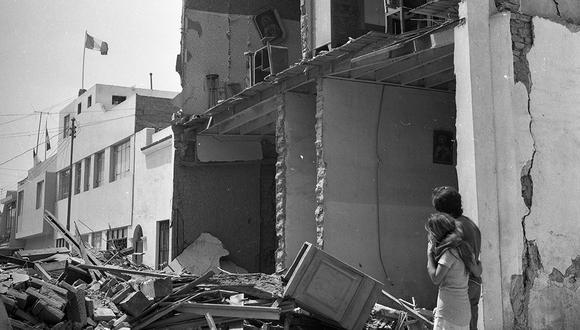 Recorrido por zonas de Lima que fueron afectadas por el terremoto del 3 de octubre de 1974. (Foto: Archivo Histórico El Comercio)