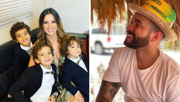Nacho e Inger Devera anunciaron su divorcio hace casi un año y al final la Corte sentenció. (Foto: Instagram / @nacho / @ingerdevera).