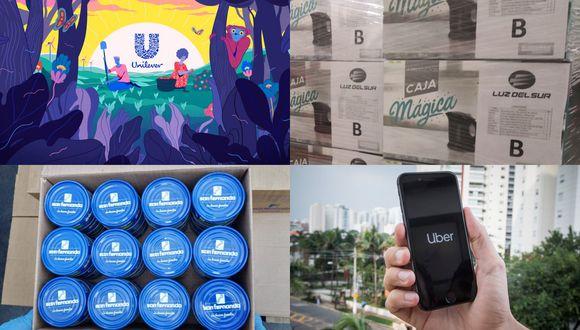 Estas son las iniciativas emprendidas por algunas empresas en el Perú. (Fotos: Difusión)