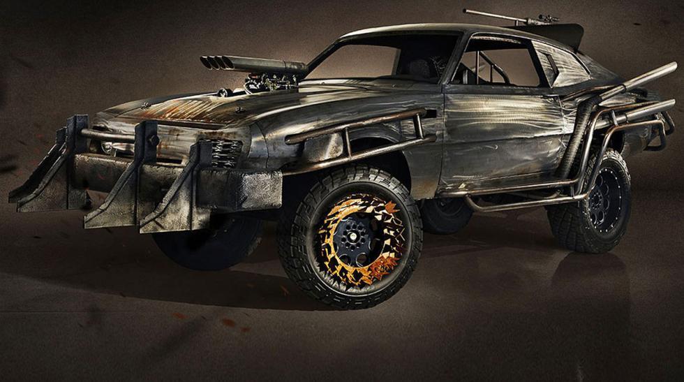 Mira como crearon el nuevo auto de Mad Max - 1