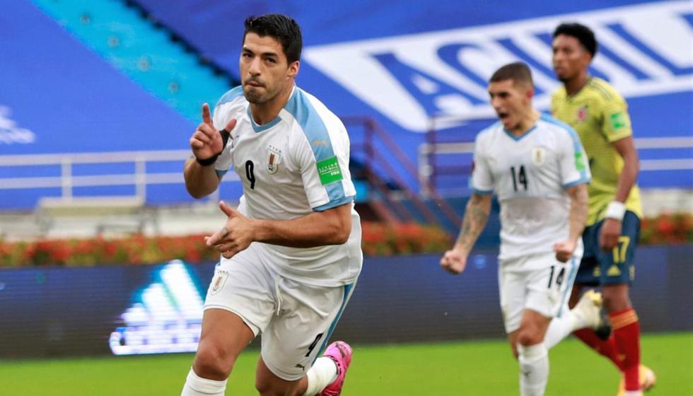 Luis Suárez es el goleador con cuatro anotaciones | Foto: Twitter Selección de Uruguay