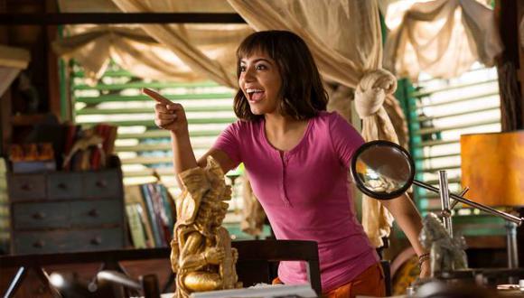 """Isabela Moner, protagonista de la película de """"Dora, la exploradora""""."""