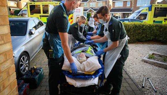 Coronavirus en Reino Unido   Últimas noticias   Último minuto: reporte de infectados y muertos hoy, martes 27 de octubre del 2020   Covid-19 UK   (Foto: Leon Neal / POOL / AFP).