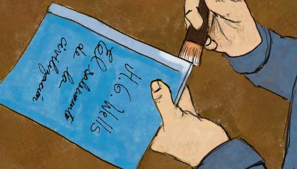 """""""Nuestros lectores se darán cuenta del asombroso valor de este libro"""". (Ilustración: Giovanni Tazza)."""