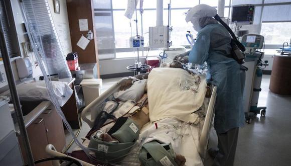 Coronavirus en Estados Unidos   Últimas noticias   Último minuto: reporte de infectados y muertos hoy, jueves 21 de enero del 2021   Covid-19   EFE/EPA/ETIENNE LAURENT