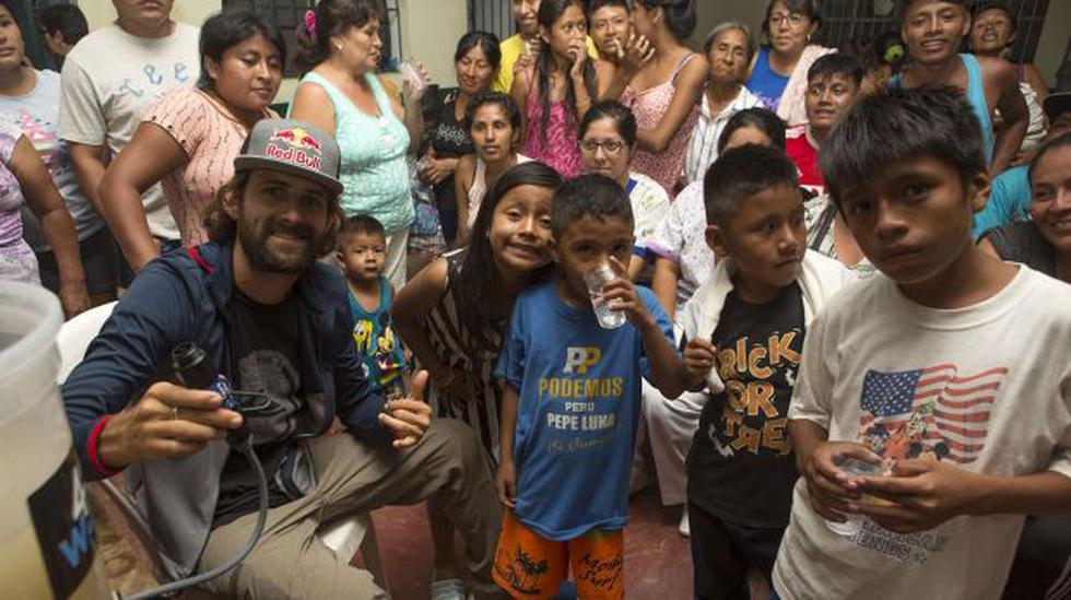 Gabriel Villarán donó mil purificadores de agua a damnificados - 1
