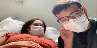 Ezio Oliva presentó a su segunda hija en redes sociales