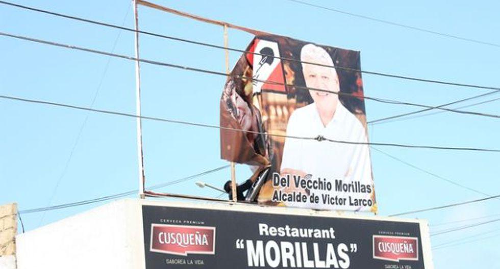 Candidato que usó imagen de Gastón Acurio retiró propaganda
