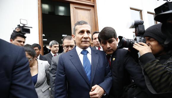 Ollanta Humala presentó un hábeas corpus ante el TC en julio pasado para apartar al juez Richard Concepción de su caso. (Foto: Piko Tamashiro)