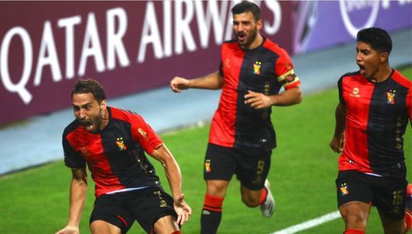 El argentino Cristian Bordacahar marcó su tercer gol con Melgar en la Copa Sudamericana. (Foto: FBC Melgar)