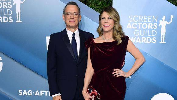Tom Hanks y Rita Wilson confirmaron que tienen coronavirus. (Foto: AFP)