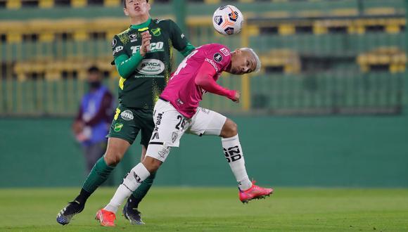 Defensa y Justicia enfrentó a Independiente del Valle por la Copa Libertadores