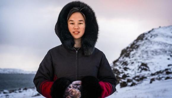 Mumilaaq Qaqqaq es parlamentaria canadiense e indígena inuk. (Foto: SAUMIK DARESHORIPOUR).