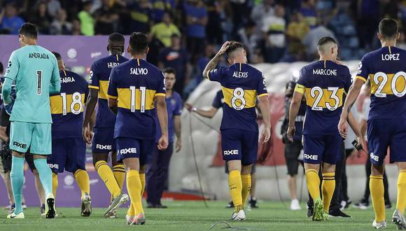 Boca Juniors no pudo ante Rosario Central. | Foto: AFP