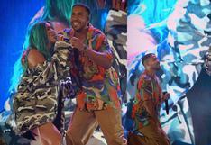 Karol G cantó junto a Romeo Santos en el concierto de Aventura en Los Ángeles