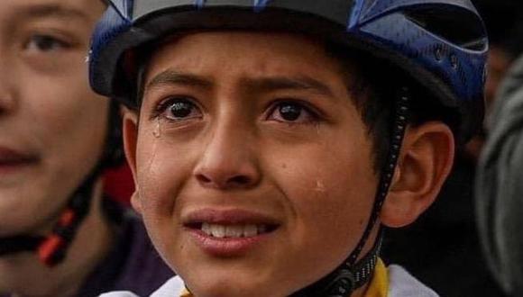 Colombia está de luto por la muerte de Julián Esteban Gómez, un  adolescente de 13 años fan del ciclismo y Egan Bernal. (Foto: redes sociales)