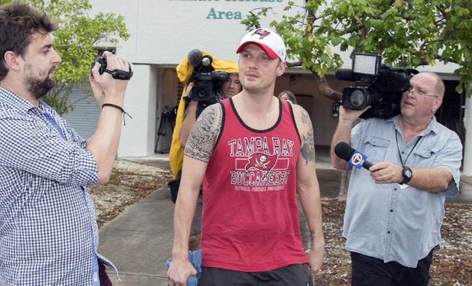 Nick Carter, ex Backstreet Boys, fue puesto en libertad