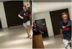 Di María realizó una broma cruel a su compañero español Ander Herrera | VIDEO