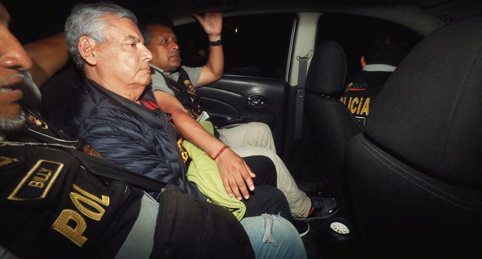 El 26 de noviembre del año pasado, Villanueva fue detenido por agentes de la Diviac de la Policía Nacional por los delitos de tráfico de influencias agravado y patrocinio ilegal. (Foto: Piko Tamashiro | GEC)