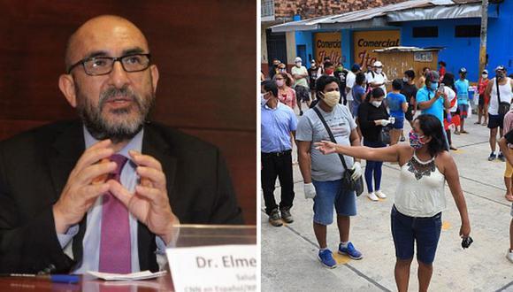 Elmer Huerta exhortó a las autoridades peruanas que prioricen el uso de pruebas moleculares para el diagnóstico de casos del COVID-19. (Foto: Archivo)