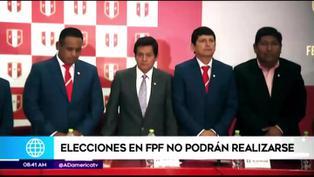 Elecciones en la FPF no podrán realizarse tras fallo del TAS