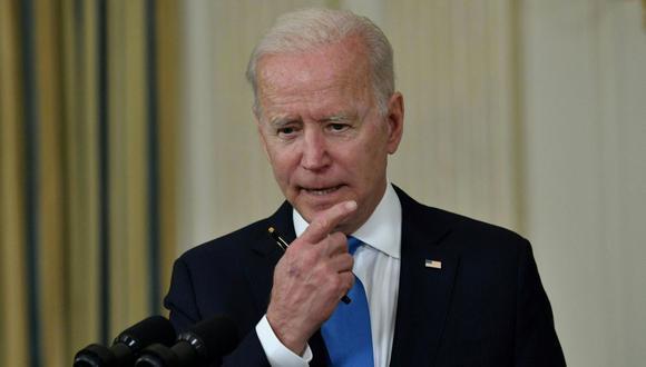 El presidente de Estados Unidos Joe Biden. (Foto: Nicholas Kamm / AFP).