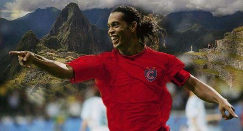 Ronaldinho ya tiene fecha de llegada para jugar con Cienciano